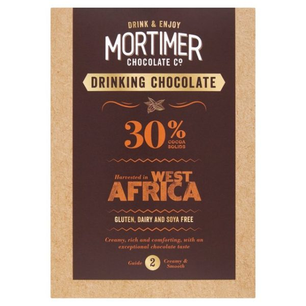 30 percent cocoa solid drinking cholate - 250g - Mortimer