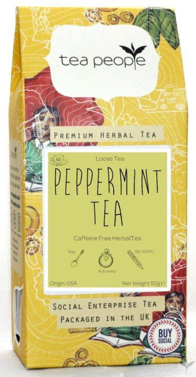 Tea People Peppermint Tea 50g
