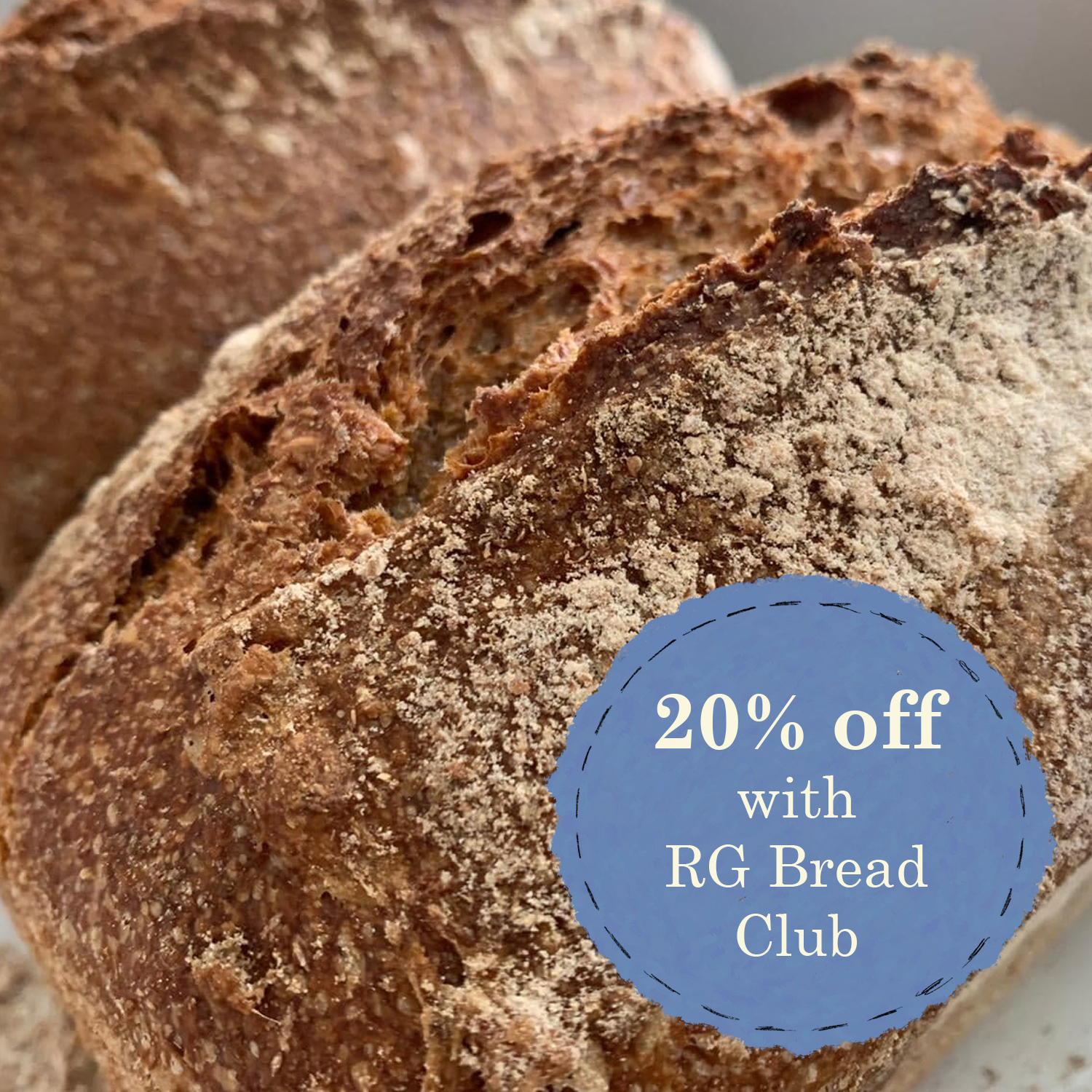 Wholemeal 600g | 12 week subscription