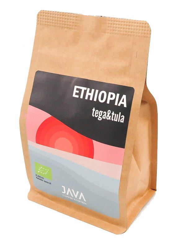 Ethiopian Roasted whole bean organic coffee - 250g